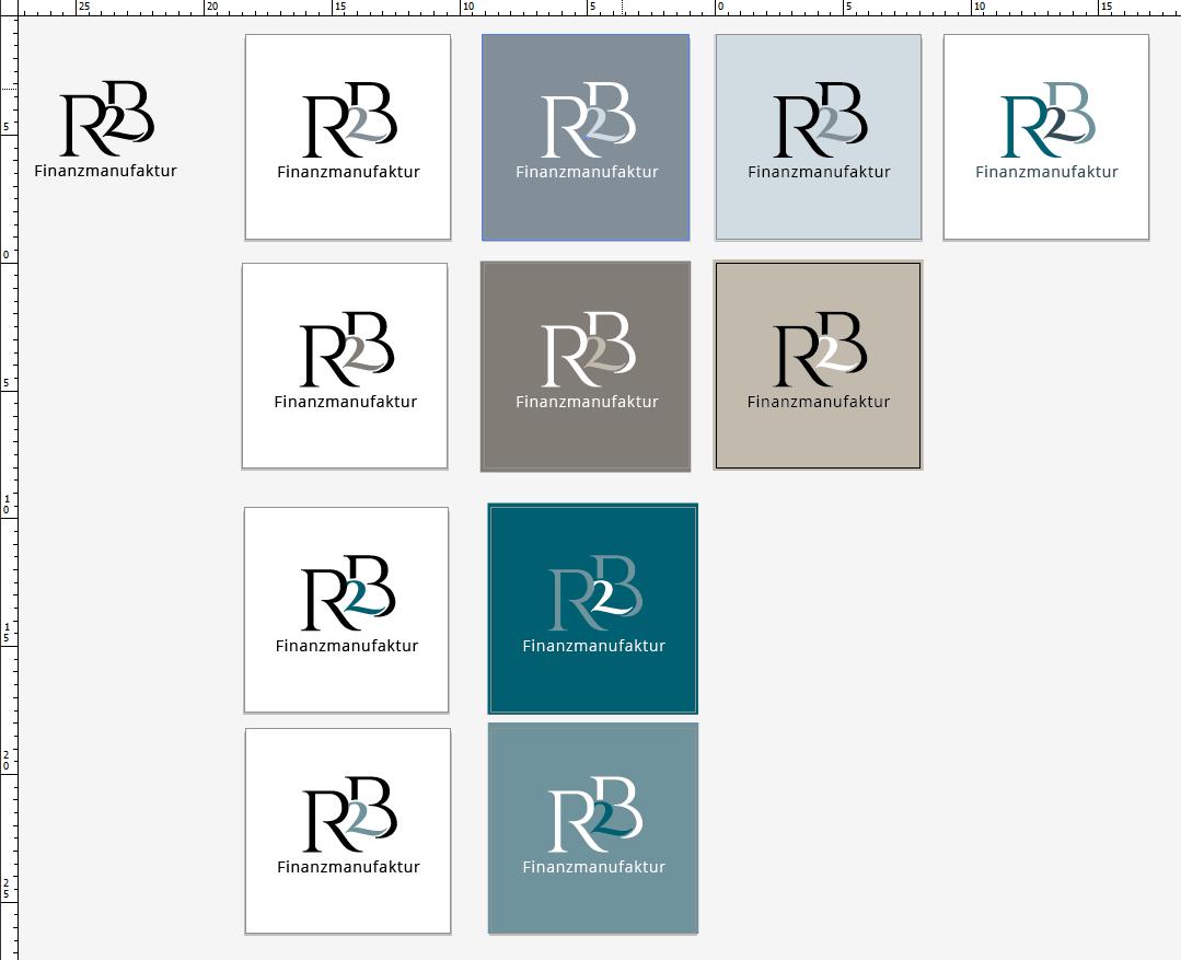 Farbvarianten für ein professionelles Logo