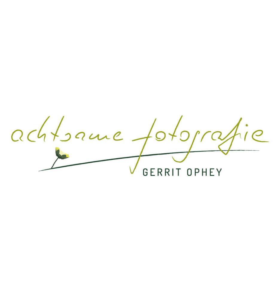 Logo Design Gerrit Ophey Achtsame Fotografie