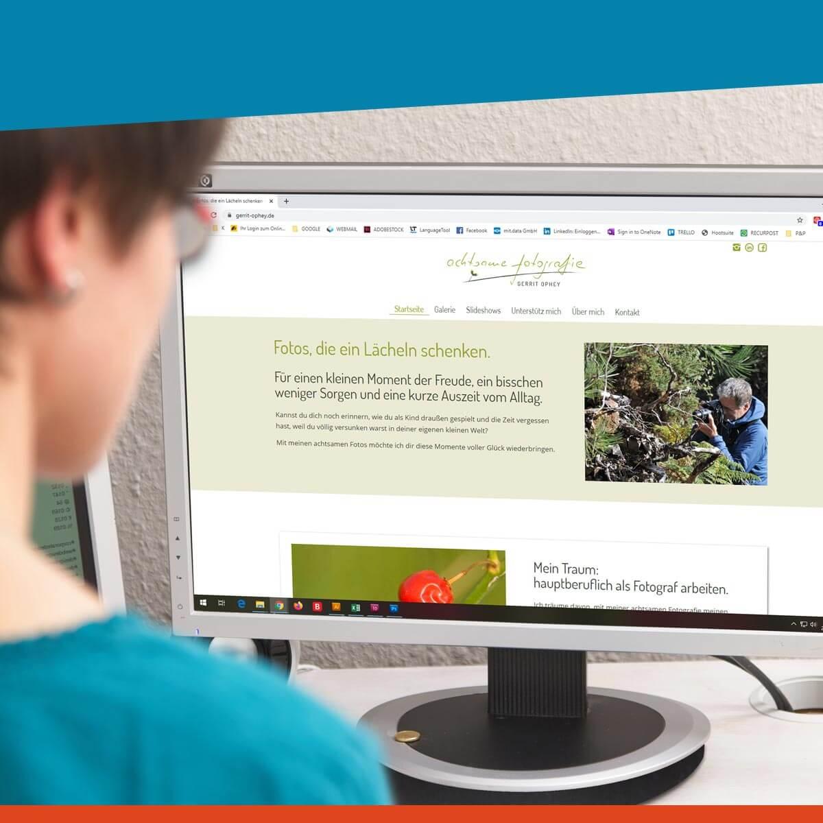 Webdesign für Solounternehmer und kleine Unternehmen
