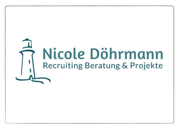 Logo Design Nicole Döhrmann Recruiting Beratung und Projekte