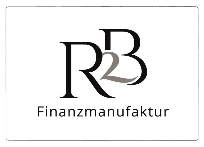 Logo Design R3B Finanzmanufaktur