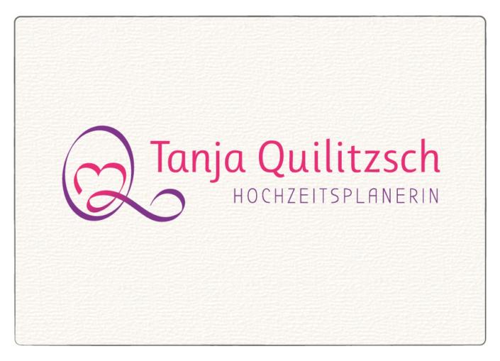 Logo Design Tanja Quilitzsch Hochzeitsplanerin