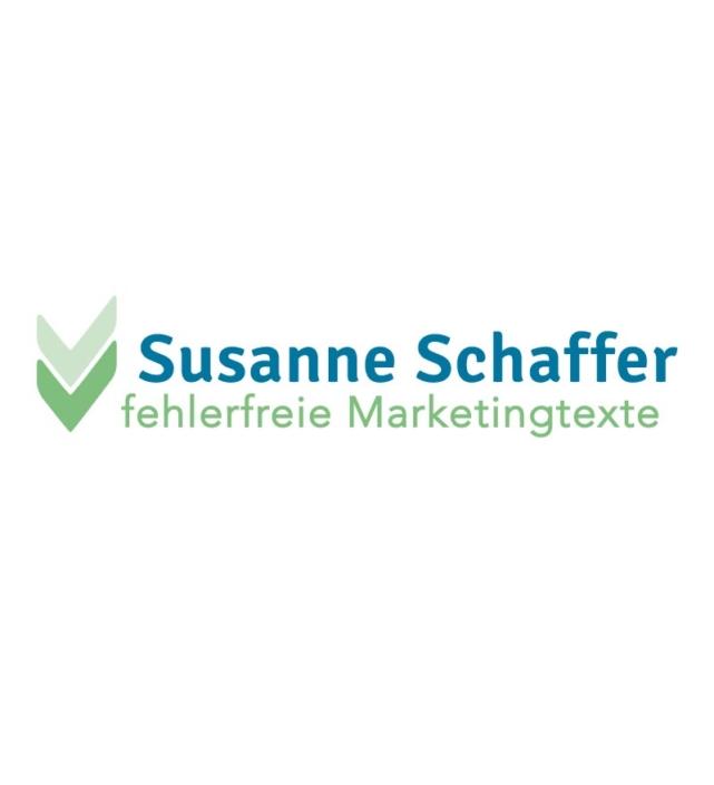 Susanne Schaffer Lektorin Logo Design von Nicole van Meegen
