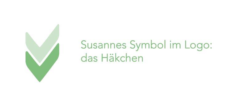 Symbol für Susannes neues Firmendesign und Logo