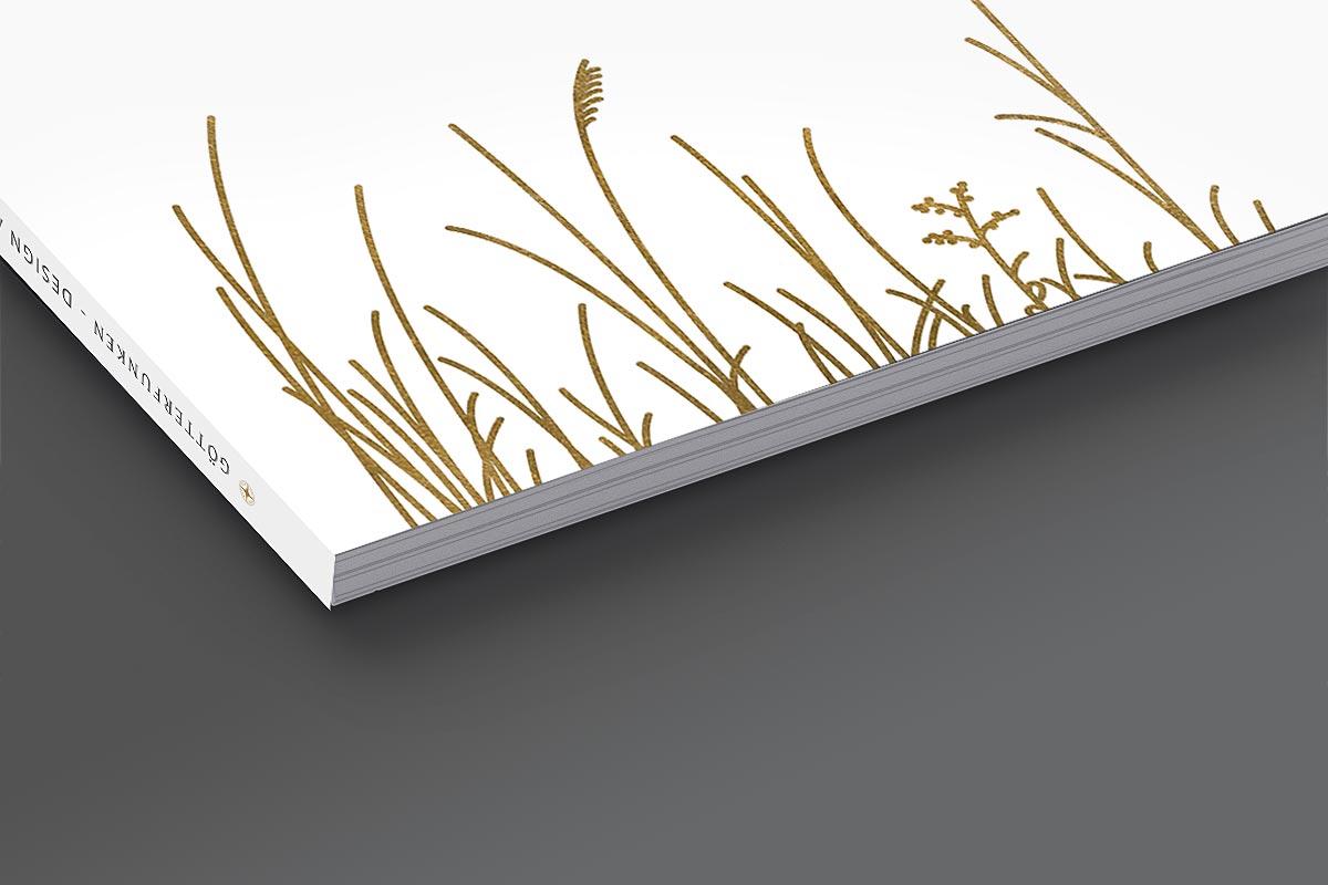 Broschüre Coverdesign - Götterfunken GmbH