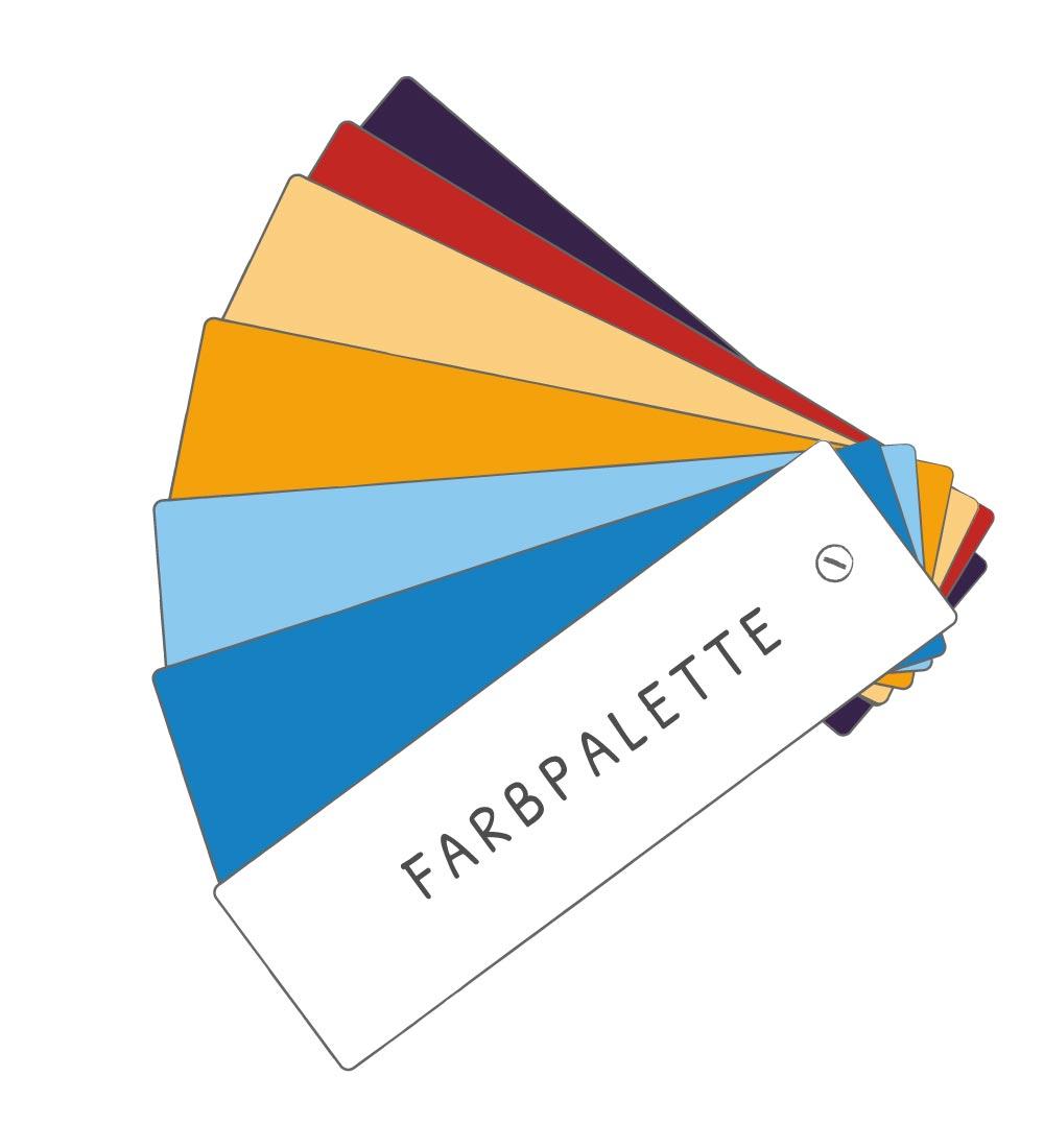 Farbpalette Ergotherapie
