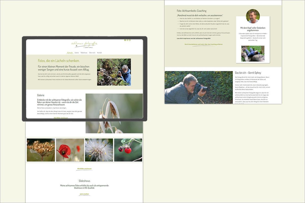 responsive Webdesign Gerrit Ophey