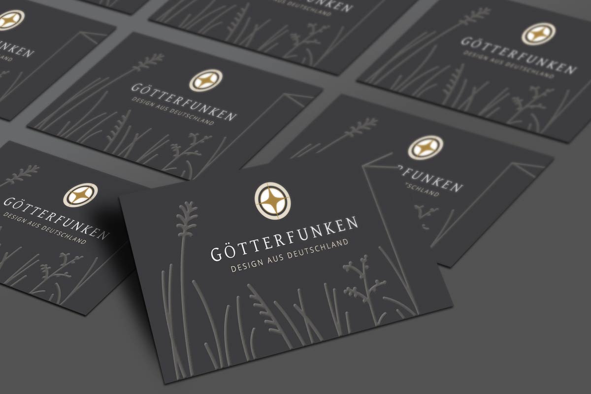 Visitenkarten Gestaltung - Götterfunken GmbH