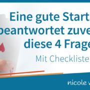 Checkliste: Eine gute Startseite beantwortet zuverlässig diese 4 Fragen