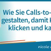 Wie Sie Calls-to-Action gestalten, damit Kunden klicken und kaufen